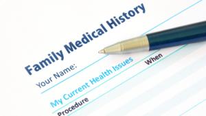 Family history of depression